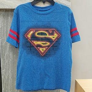 Superman top boys large
